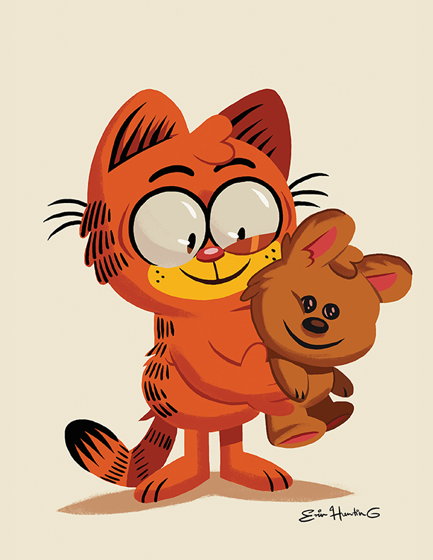 garfield and pookey